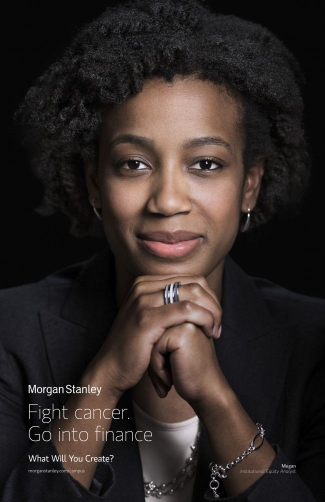 ad for Morgan Stanley