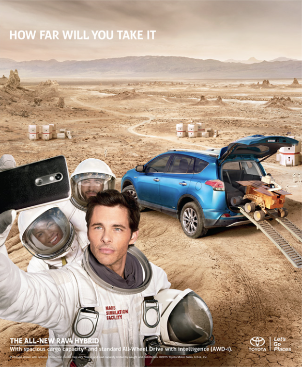 Toyota Ad with James Marsden