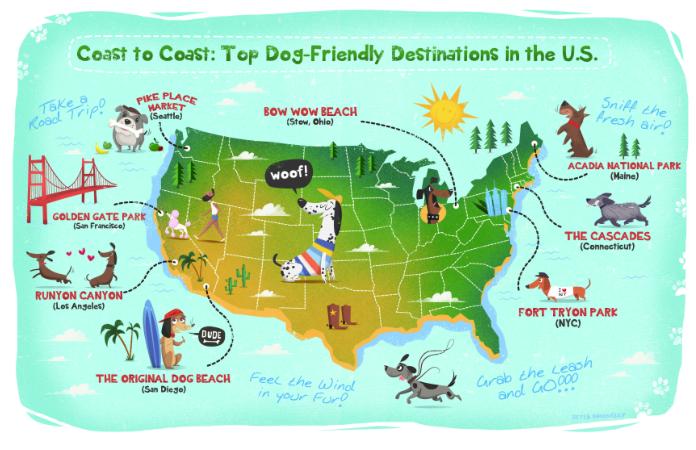 Milk Bone map for dog friendly locations