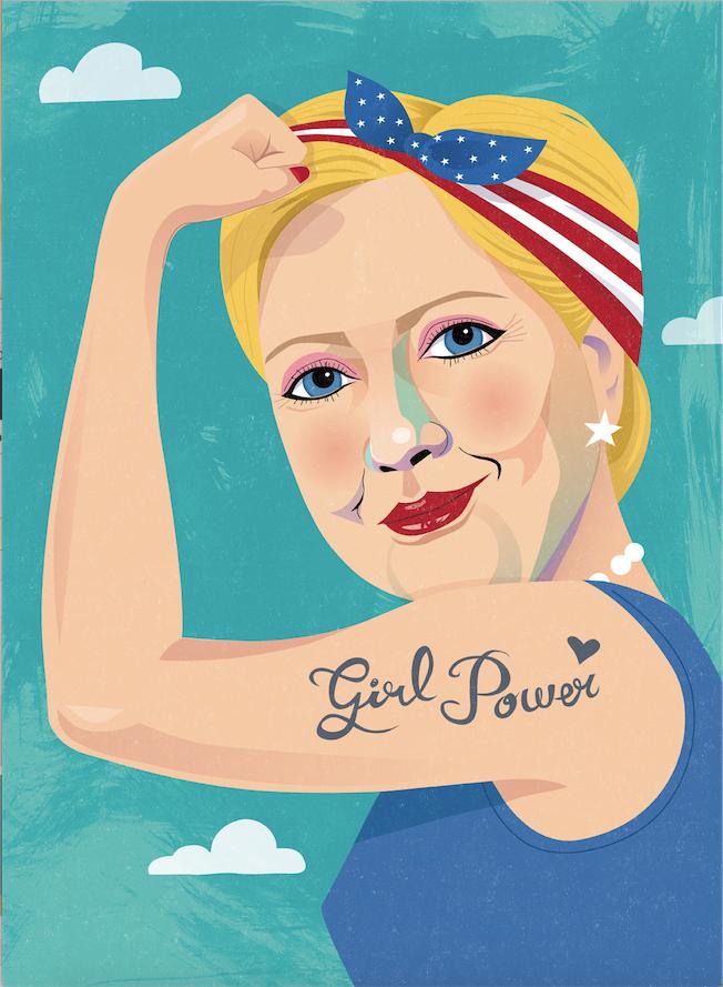 Hillary Clinton  Girl Power