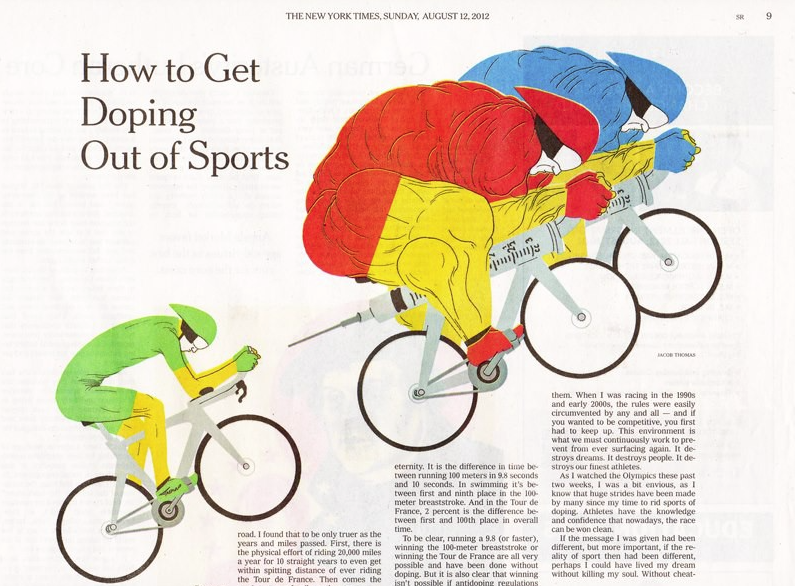 Doping in Cycling Article NYT
