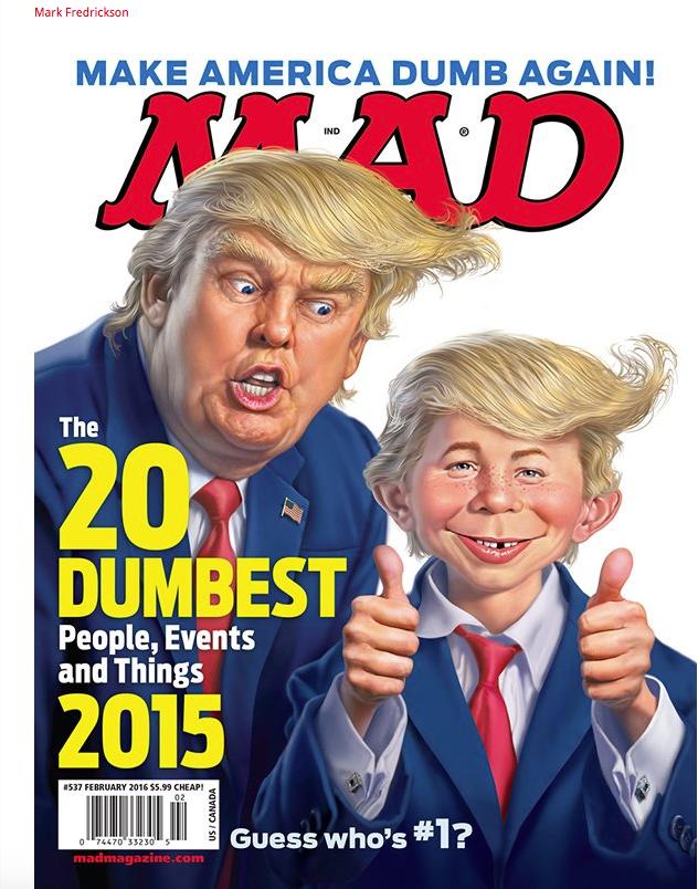 Mad Magazine Cover  Trump