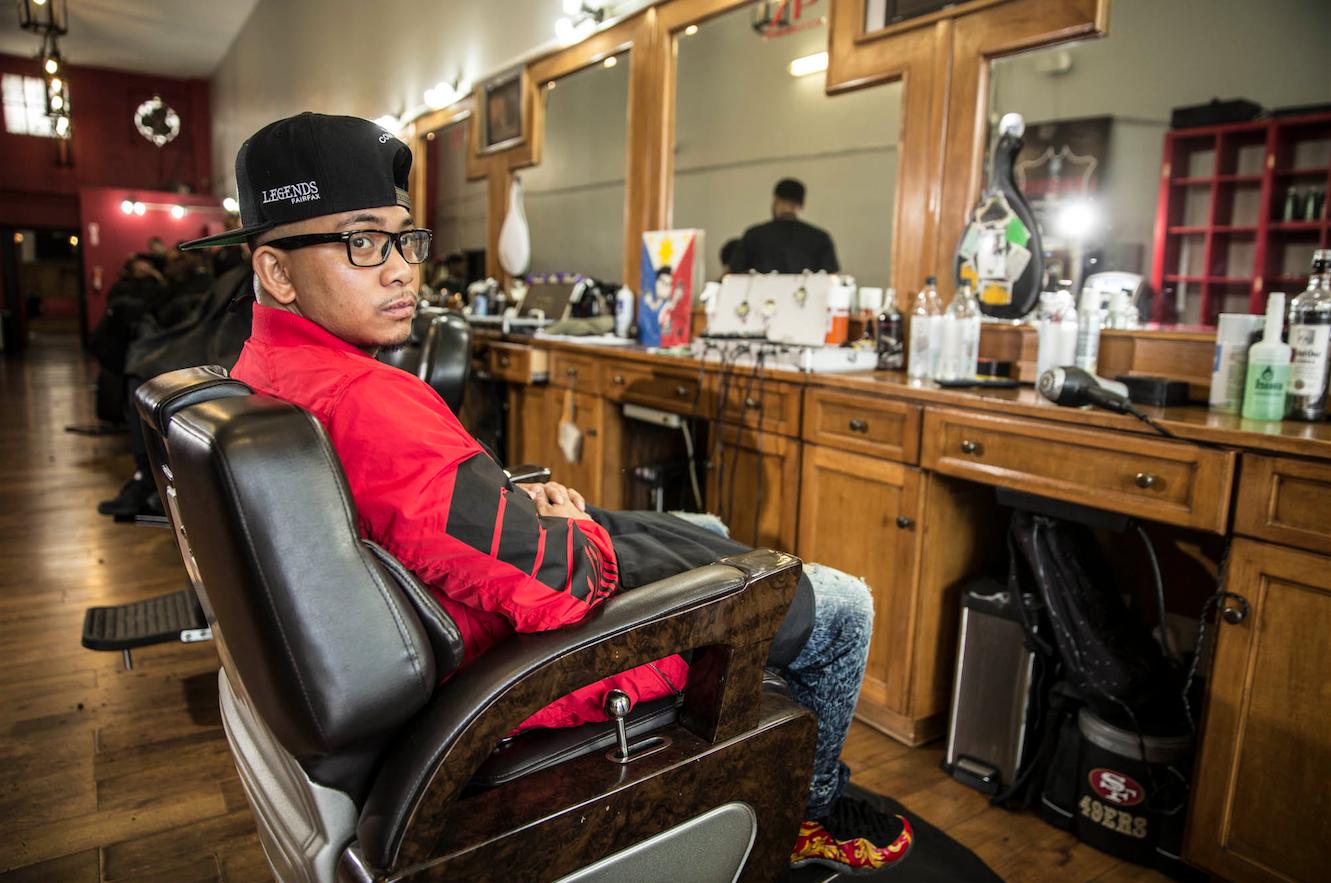 Jay Mallari Legends Barbershop