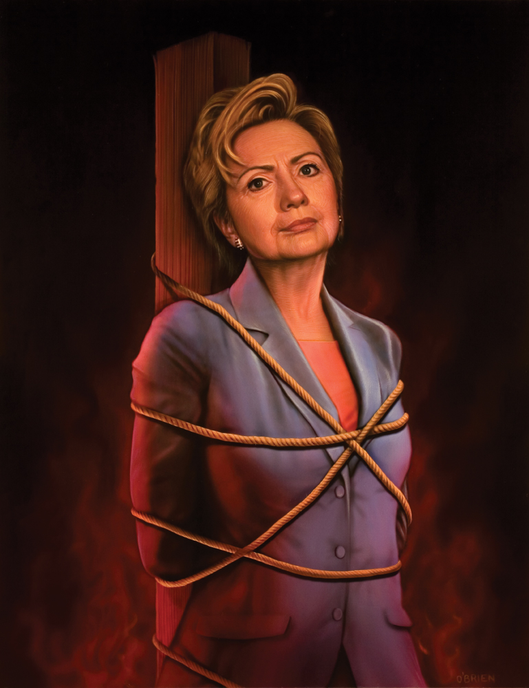 Hillary at the Stake