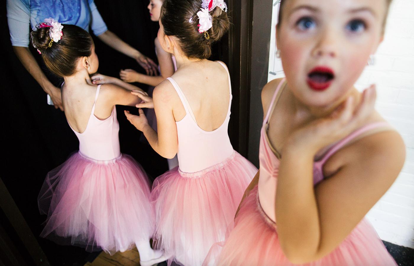 Young Ballet Dancers