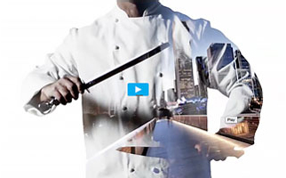 Photo of a chef