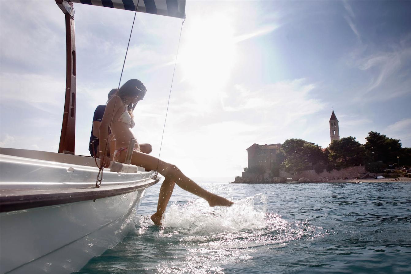 Sailing coast of Croatia