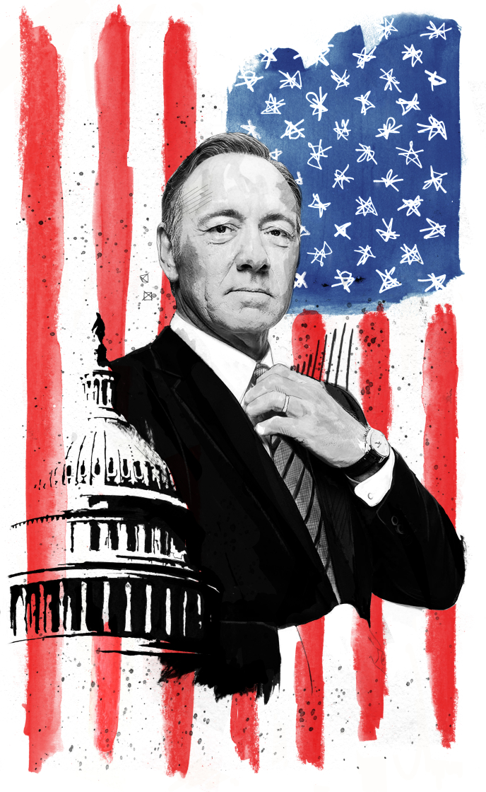 Poster for House of Cards.