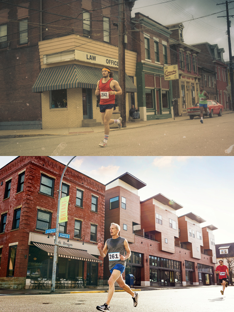 runner then and now