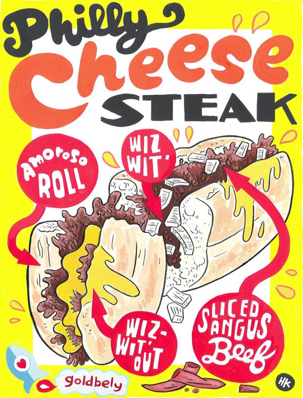 Hawk Krall Philly Cheese Steak