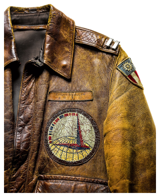 Aviation jacket Captain Charles A. Mueller WWII