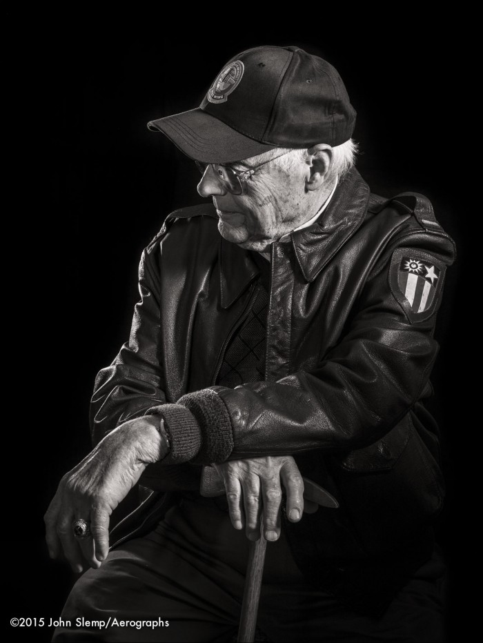 portrait WWII vet