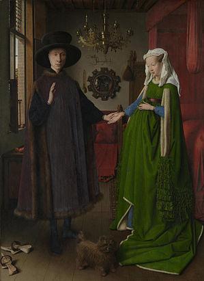 The Arnolfini Wedding Jan Van Eyck
