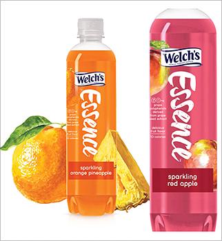 Welch's Essence sparking water bottle